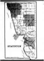 Staunton Township, Troy, East Troy, Miami County 1883